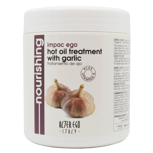 Alter Ego 33.8-ounce Hot Oil Treatment with Garlic