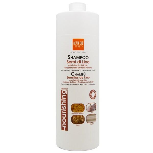 Alter Ego Semi de Lino 33.8-ounce Shampoo with Garlic Extracts