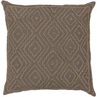 Beth Lacefield Decorative Sergio Geometric Feather/ Down or Polyester Filled PIllow 20-inch