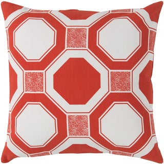 Florence Broadhurst Decorative Darnell Geometric Feather/ Down or Polyester Filled 20-inch Throw Pillow