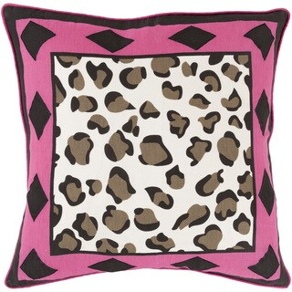 Decorative Denise Geometric Feather/ Down or Polyester Filled 20-inch Pillow