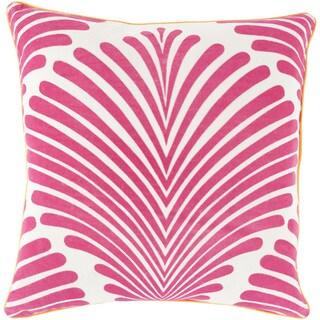 Decorative Tucker Graphic Print 22-inch Pillow