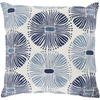 KD Spain 18-inch Poly or Down Filled Decorative Damien Allium Pillow