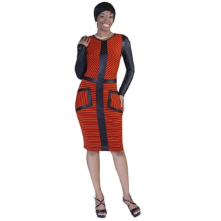 Kayla Collection Women's Defined Lines