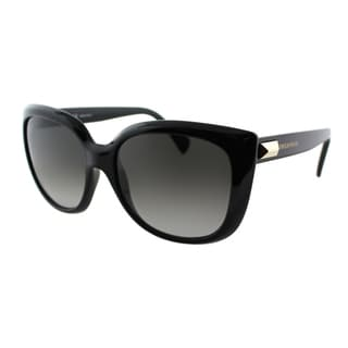 Emilio Pucci Women's EP 746S 001 Ebony Plastic Cat Eye Sunglasses