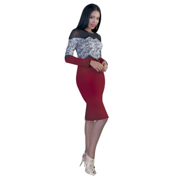 Kayla Collection Women's Bodycon Dress