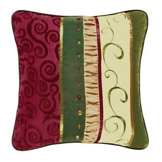 Holiday Treasures Velvet Pillow