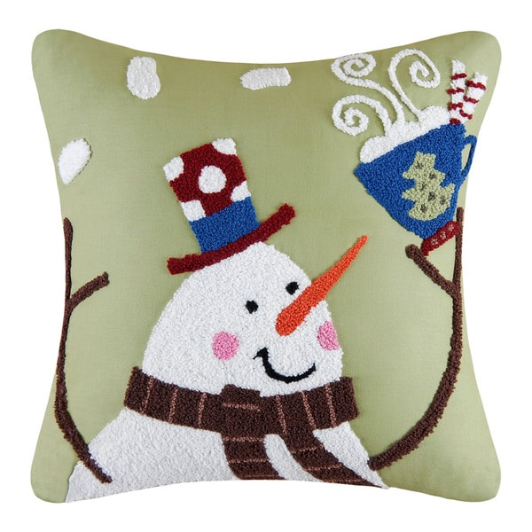 Toasty Wishes Tufted Pillow