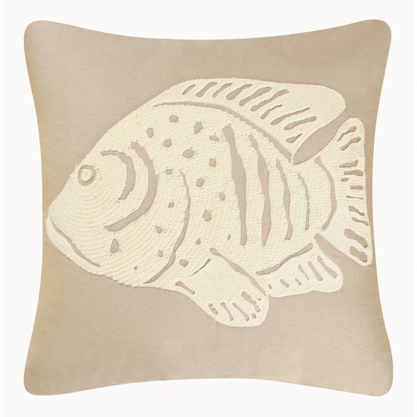 Fish Rice Stitch Pillow