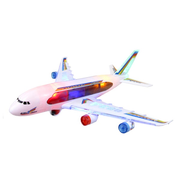 Rolling Jet Liner with Lights and Sounds