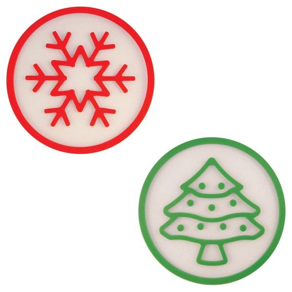 Christmas trivets