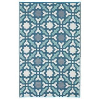 Seville - Multicolor - Blue (3' x 5')