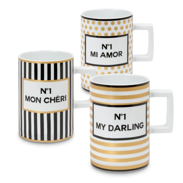 Waechtersbach Tres Chic Mugs (Set of 3)