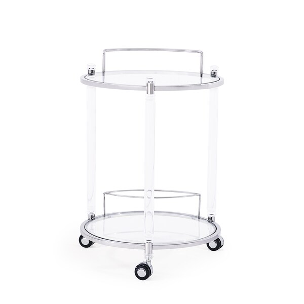 Wilcox Bar Trolley, Silver