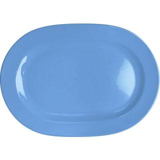 Waechtersbach Fun Factory Blue Bell Oval Platters (Set of 2)