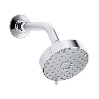Kohler Awaken 2.0 gpm Multifunction 3-Spray Showerhead in Polished Chrome