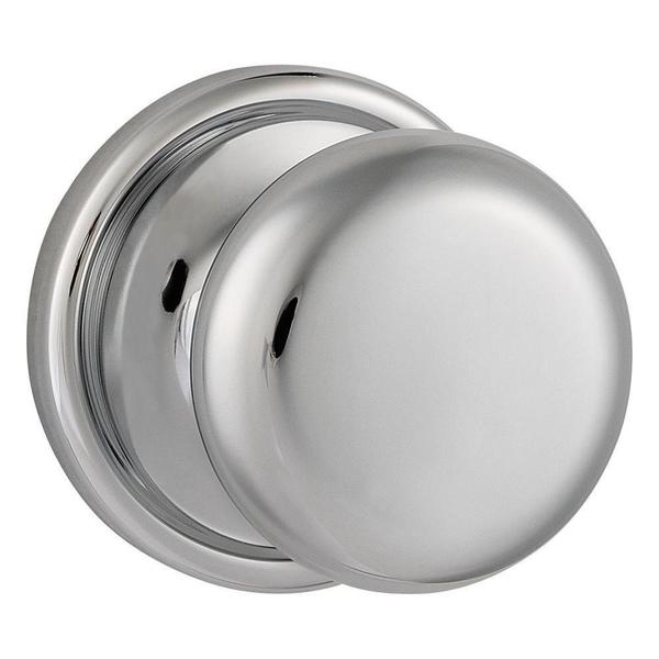 Kwikset Hancock Polished Chrome Hall/Closet Knob