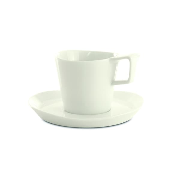 Eclipse Coffee Cup and Saucer (Set of 2)