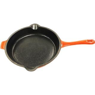 Neo 10-inch Orange Cast Iron Fry Pan