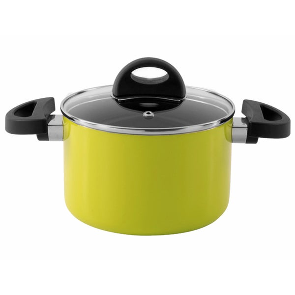 Eclipse 8-inch Lime Covered Casserole Dish