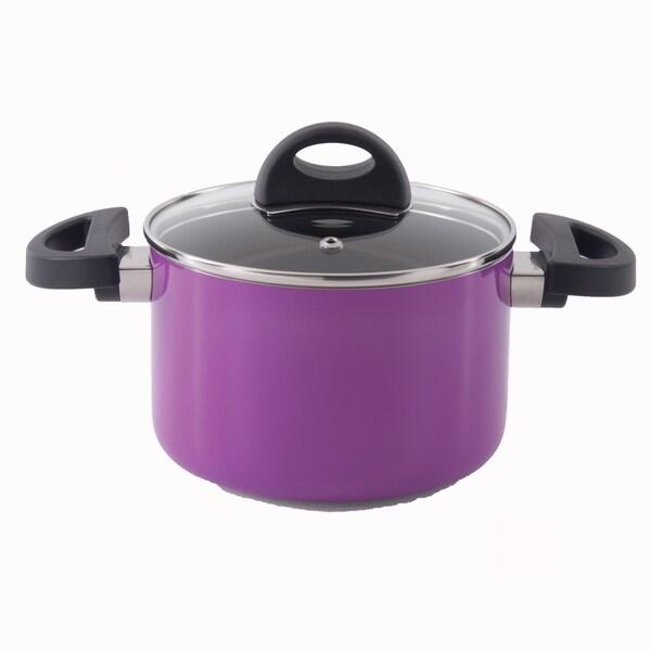 Eclipse 8-inch Purple Covered Casserole Dish