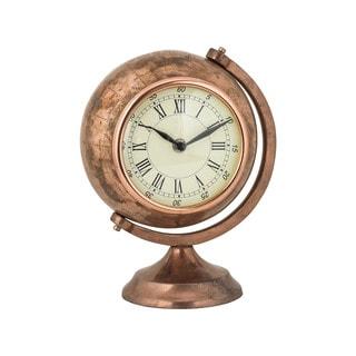 Sterling Table Top Clock Globe
