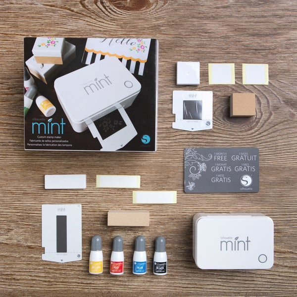 Silhouette Mint Stamp Making Machine