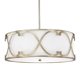 Capital Lighting Donny Osmund Alexander Collection 4-light Winter Gold Pendant