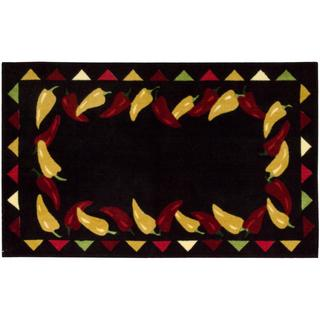 Nourison Accent Decor Black Accent Rug (2'3 x 3'9)