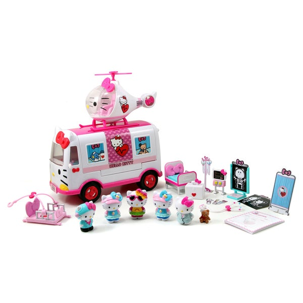 Hello Kitty Toys Set : Jada toys hello kitty rescue set  overstock