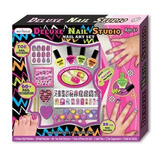 Hot Focus Deluxe Nail Studio Nail Art Set