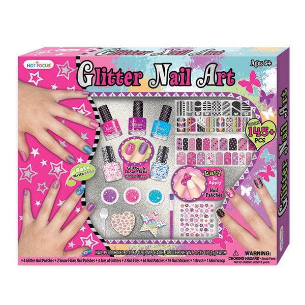 Hot Focus Glitter Nail Polish Mega Set
