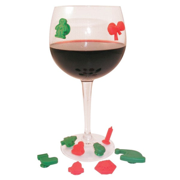 Holiday Wine Markers (Set of 10)
