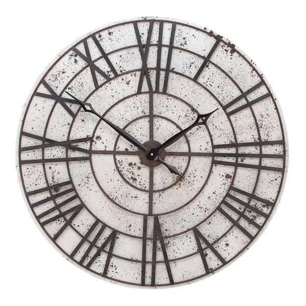 Pitted Wall Clock