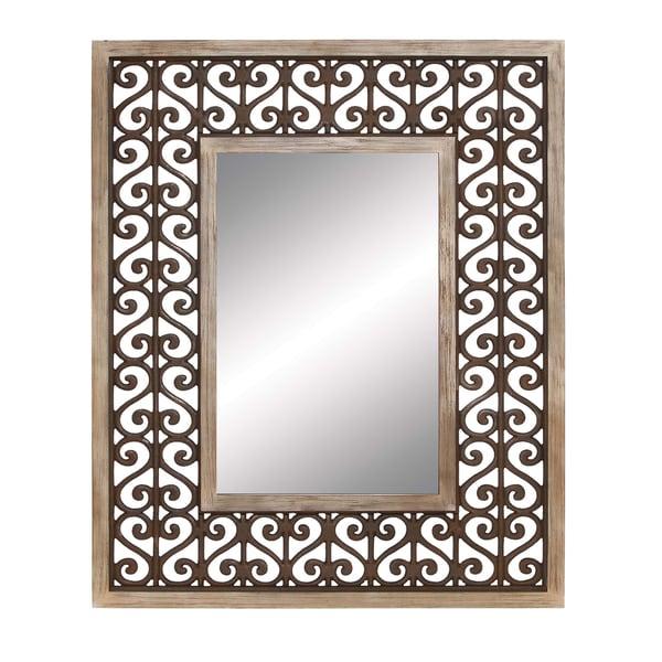 Heart Scroll Mirror