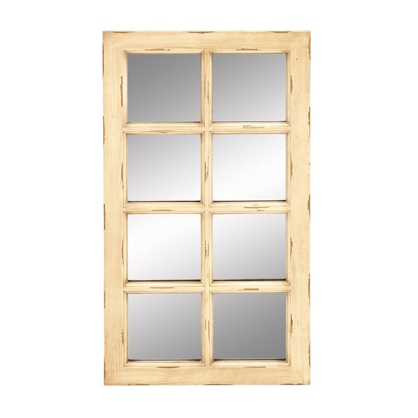 Windowpane 36-inch Wall Mirror