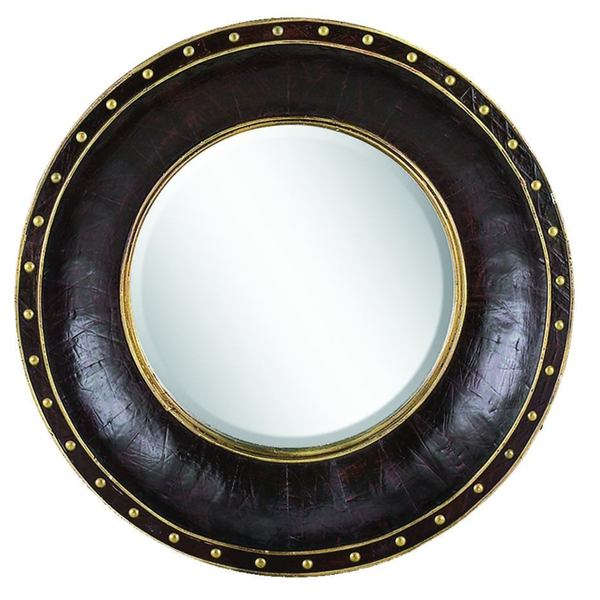 Gold Trim Mirror