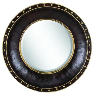 Gold Trim Mirror
