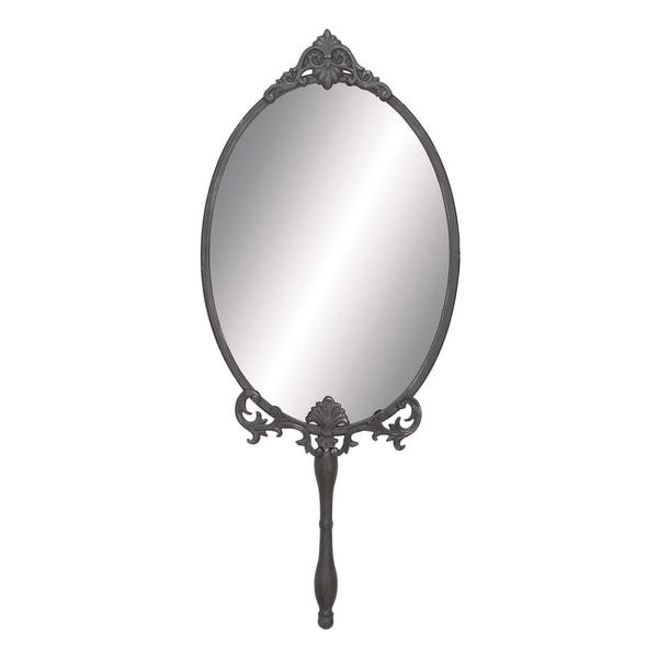 Handheld Oval Wall Mirror