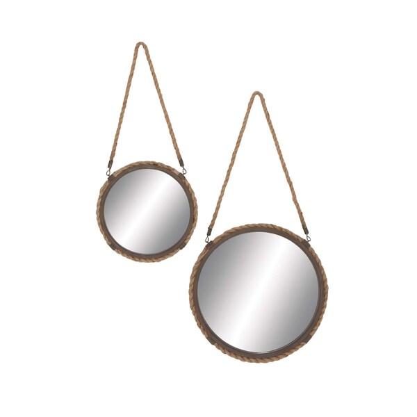 Braided Rope Mirrors (Set of 2)