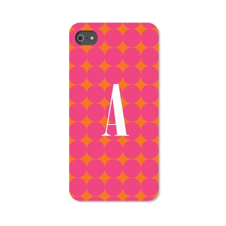 Pink Polka-dots Personalized iPhone 5 Case
