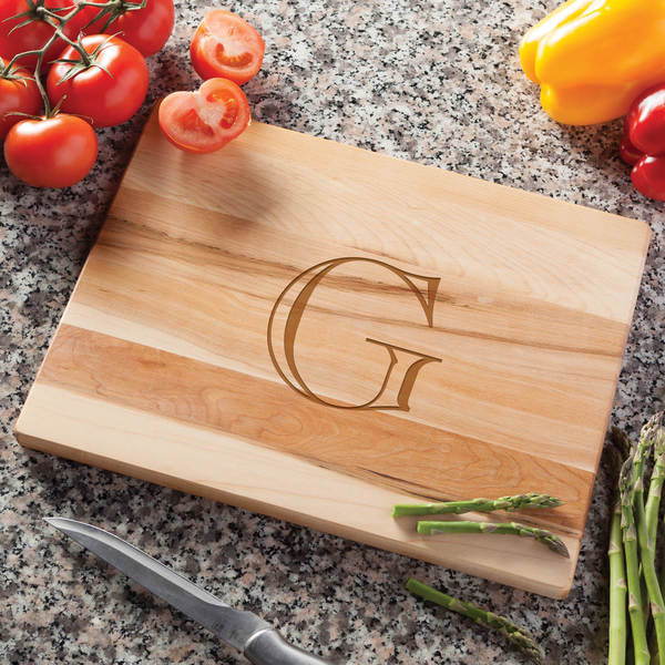 Initial Personalized Cutting Board