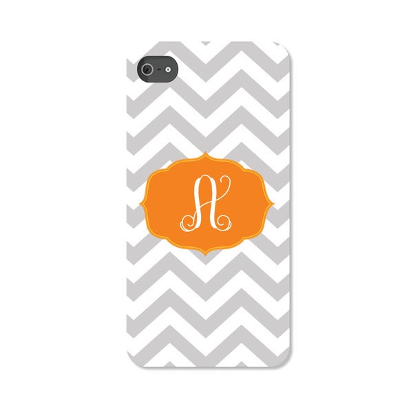 Chevron Initial Personalized I Phone 4 Case -  Custom Personalization Solutions, LLC, 50521