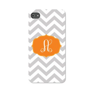 Chevron Initial Personalized I Phone 4 Case