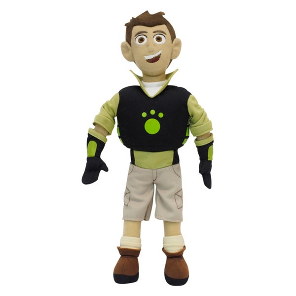 Wild Kratts Chris Talking Plush