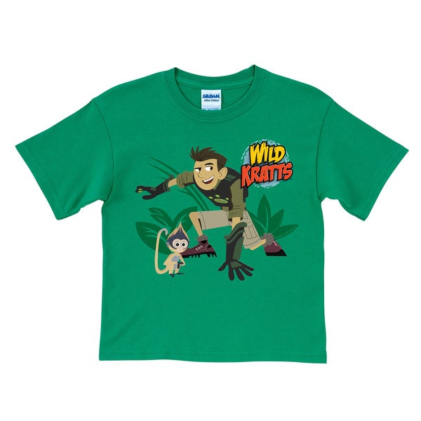 Wild Kratts Chris and Grabsy Green T-Shirt