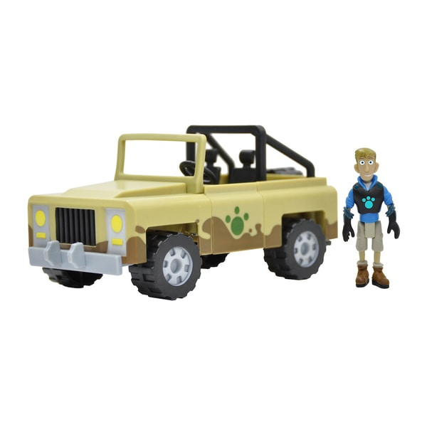 Wild Kratts Creature Rescue Createrra Set with Martin Figure