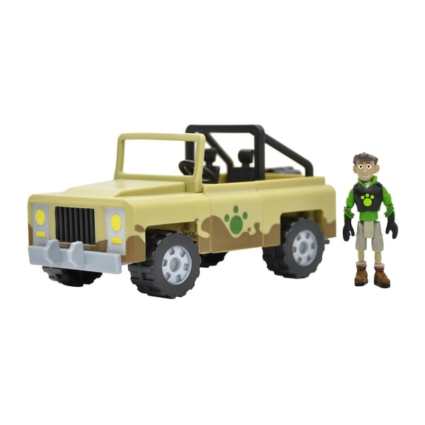 Wild Kratts Creature Rescue Createrra Set with Chris Figure