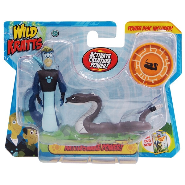 Wild Kratts Creature Power 2 Pack Rattlesnake Powers Set