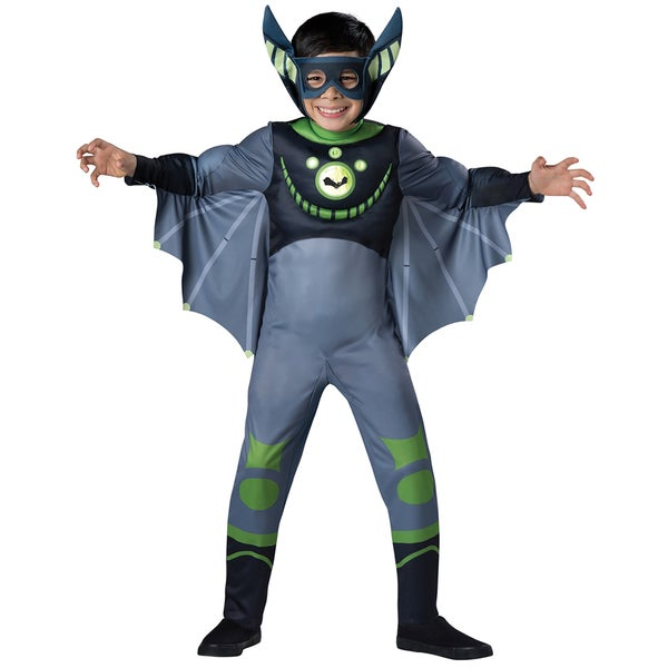 Wild Kratts Muscle Green Bat Costume